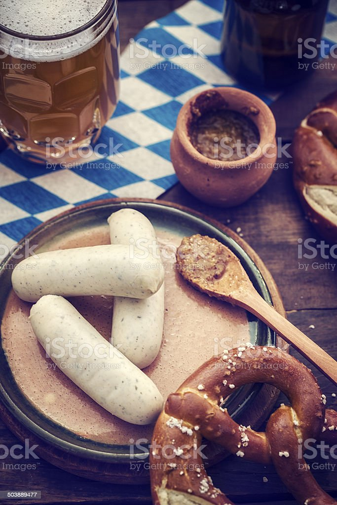 Oktoberfest Meal stock photo