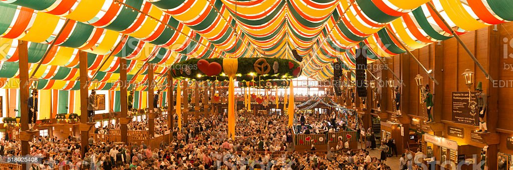 Oktoberfest Munich stock photo
