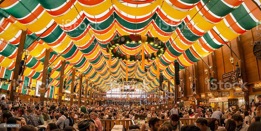 Oktoberfest Munich stock photo