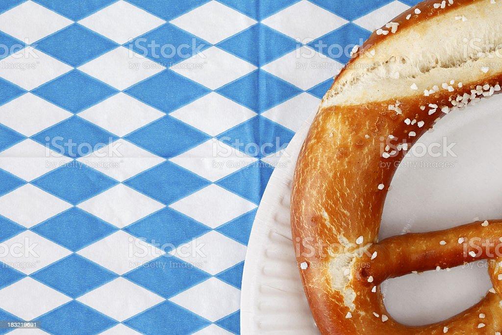 Oktoberfest Pretzel royalty-free stock photo