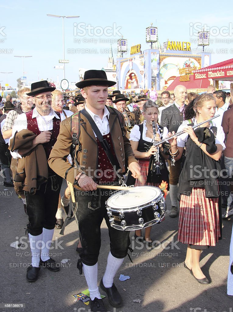 Oktoberfest_drummer_2 stock photo