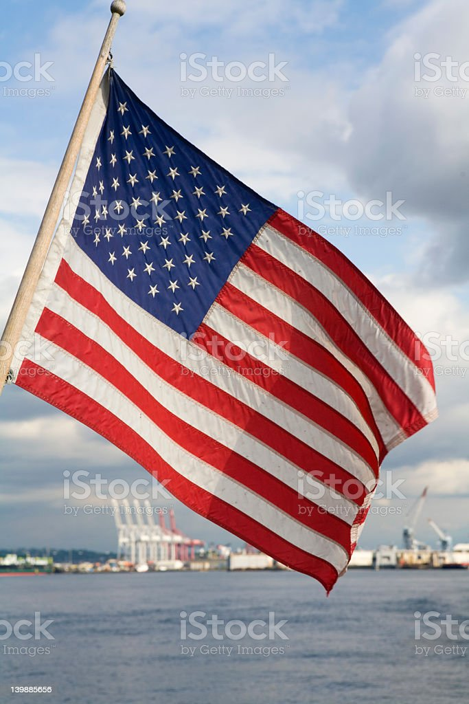 Ol Glory royalty-free stock photo