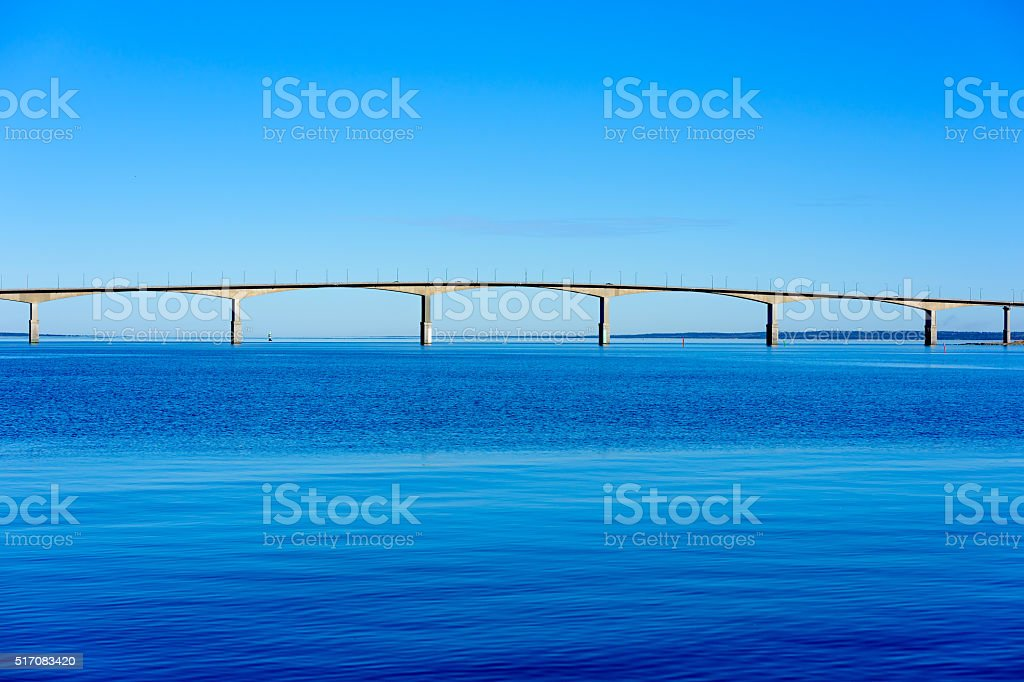 Oland bridge stock photo