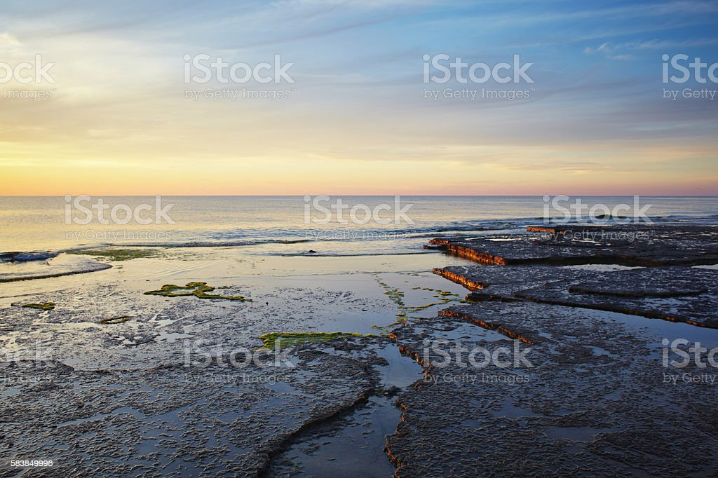 Oland seaside stock photo