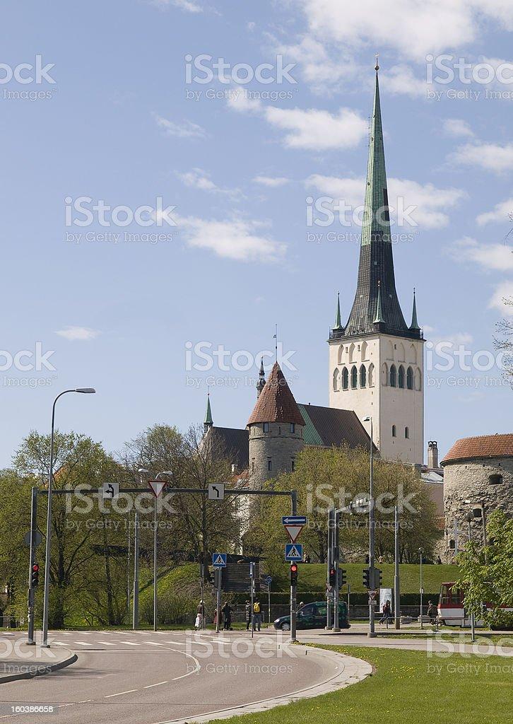 Olav church royalty-free stock photo