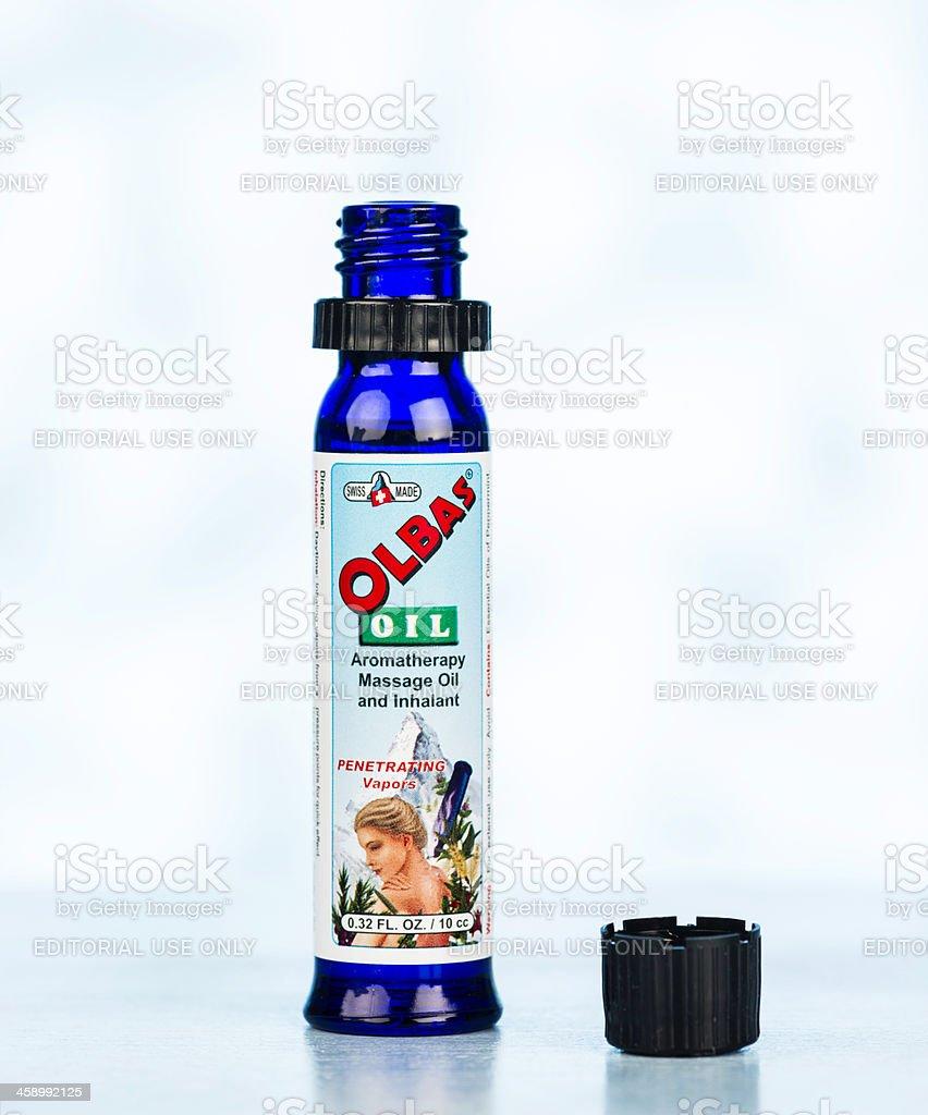 Olbas Oil stock photo