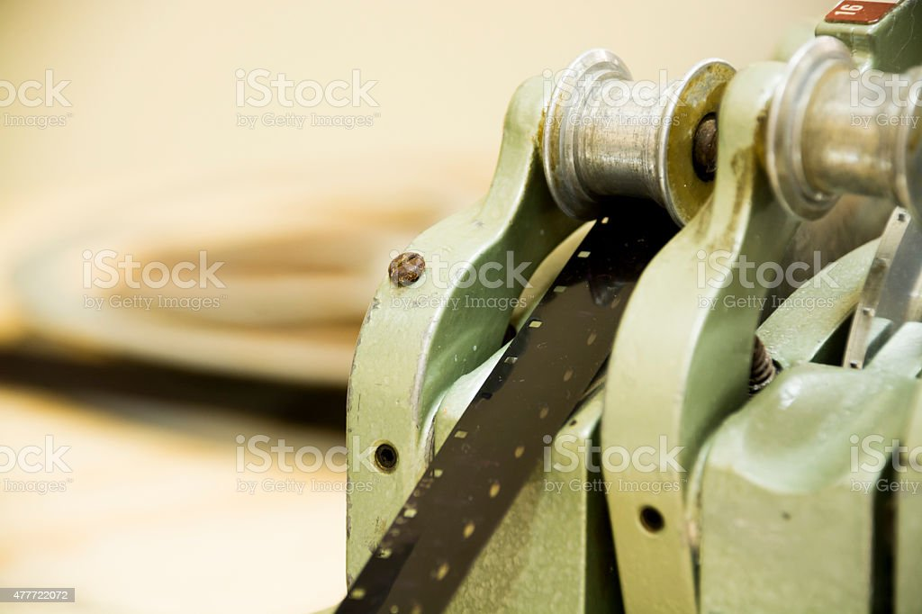 Old 16mm film stock photo