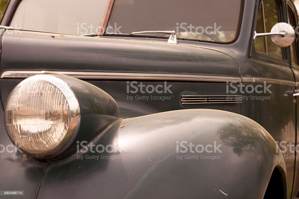 Old 1930's car stock photo