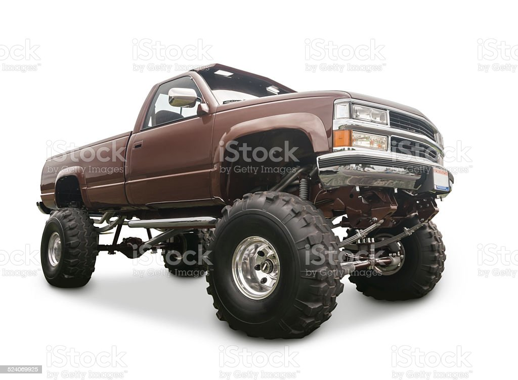 Old 4x4 Truck stock photo