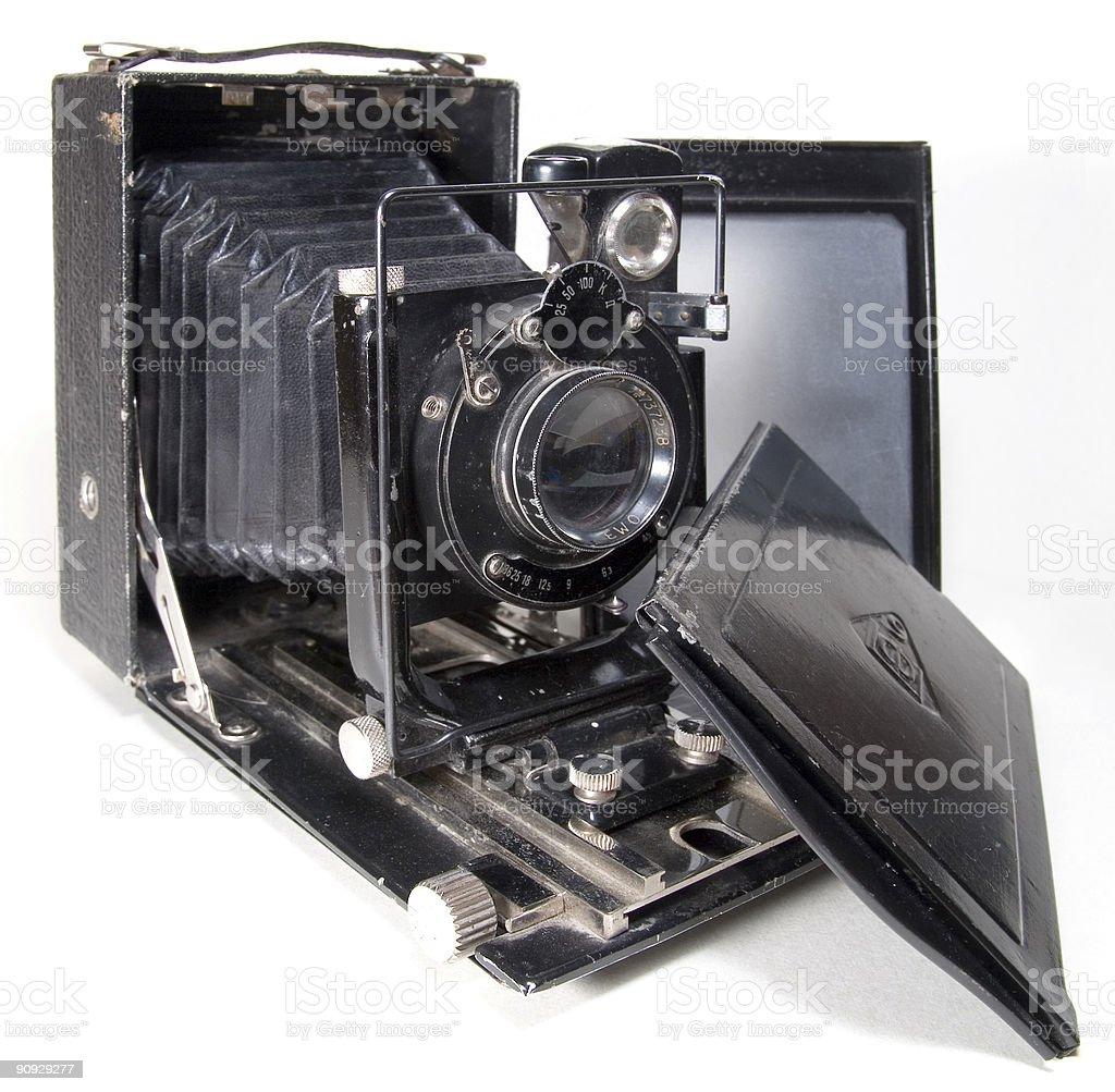Old 9x12 camera royalty-free stock photo