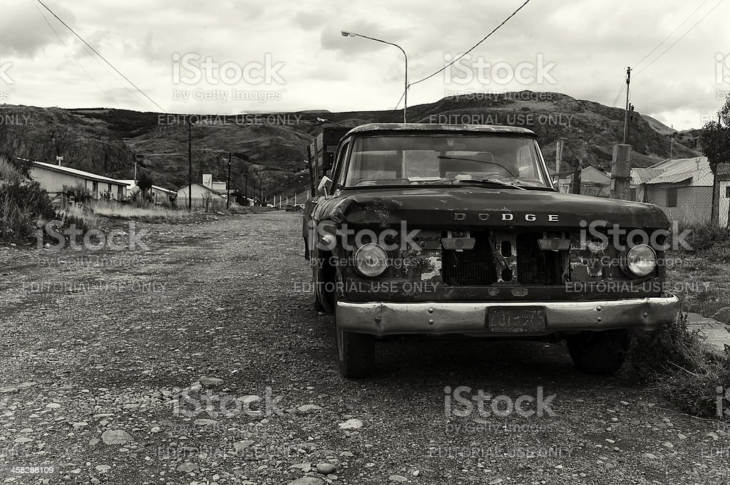 Old Abandoned Car royalty-free stock photo