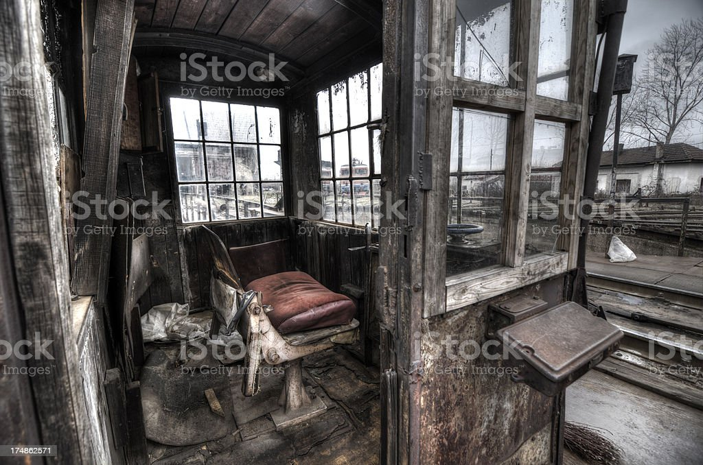 Old abandoned factory royalty-free stock photo