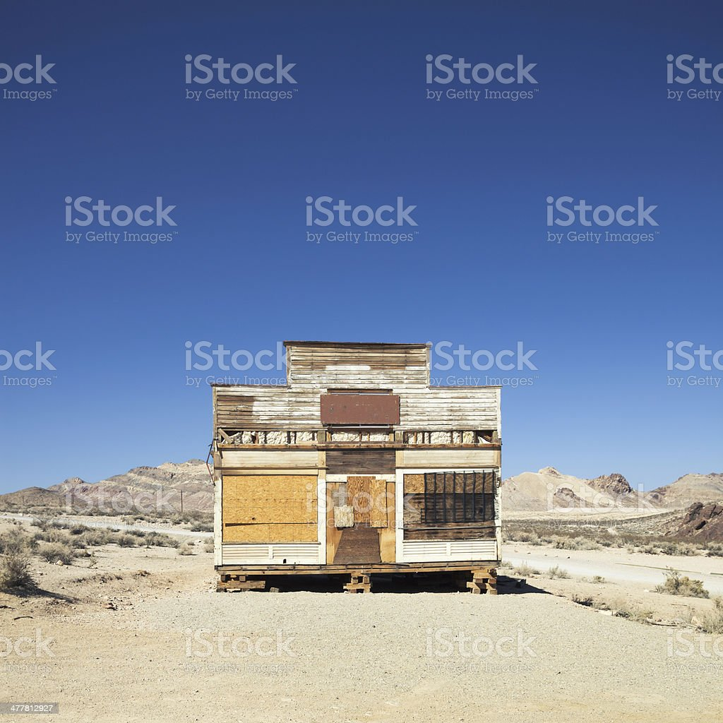 Old abandoned store royalty-free stock photo