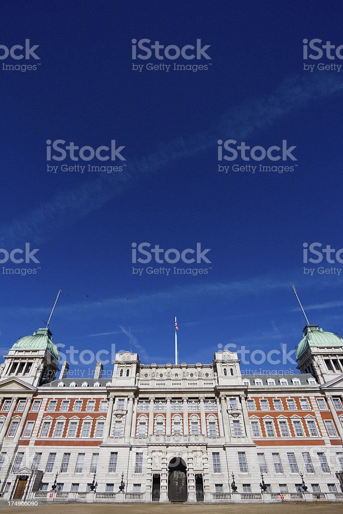 Old Admiralty Building in London, England royalty-free stock photo