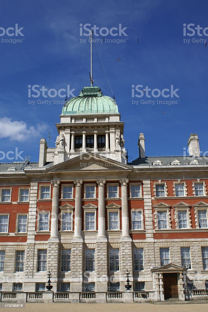 Old Admiralty Building in London, England stock photo