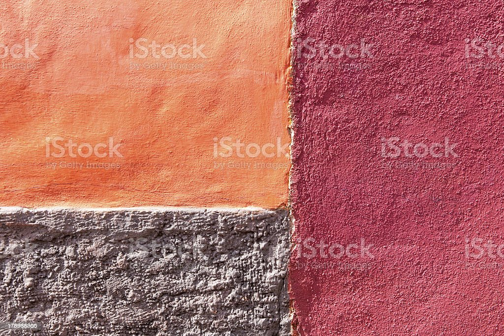 Old adobe wall royalty-free stock photo