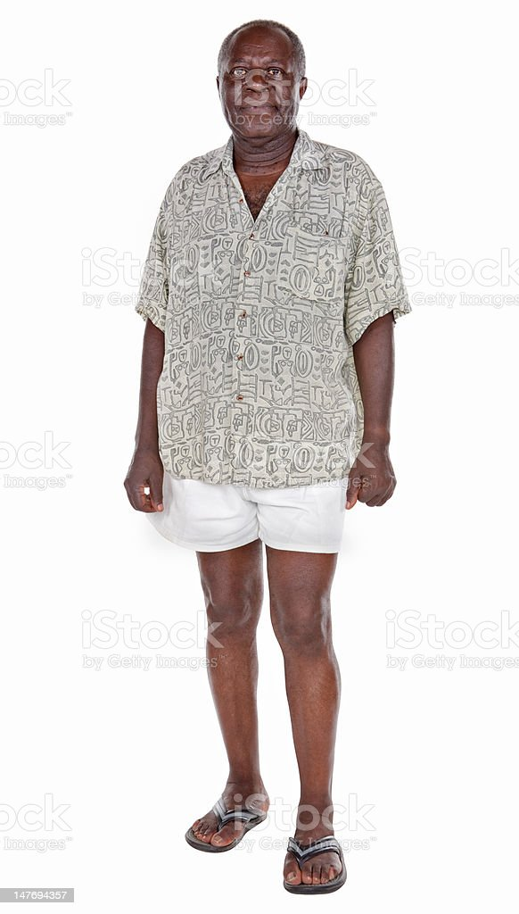 old african man stock photo