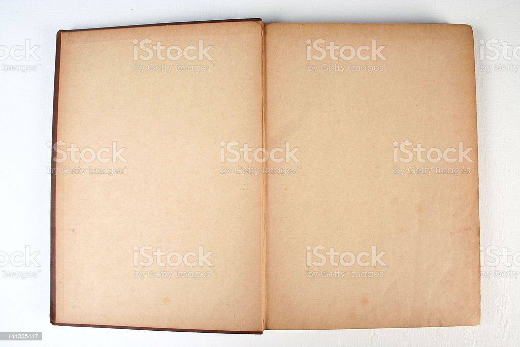 old aged book royalty-free stock photo