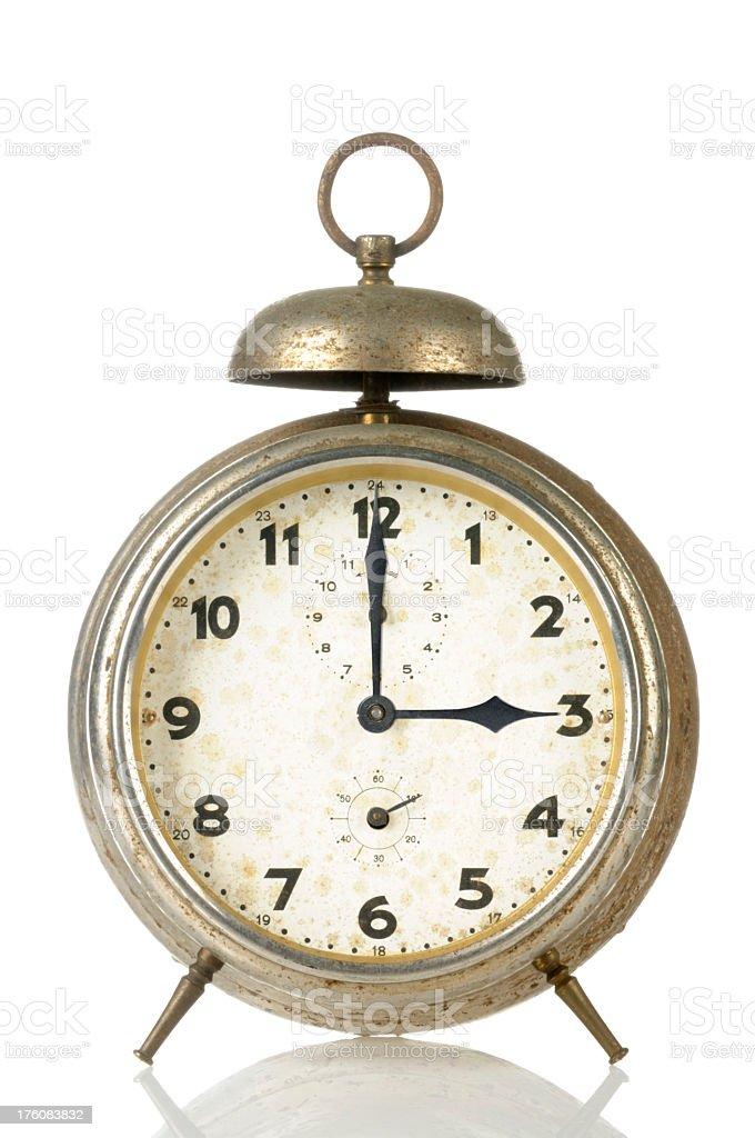15 00 Old Alarm Clock stock photo