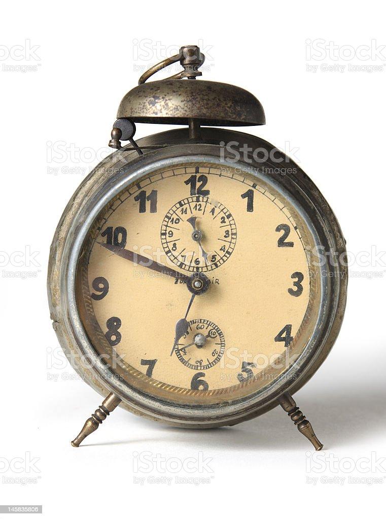 Old alarm-clock royalty-free stock photo