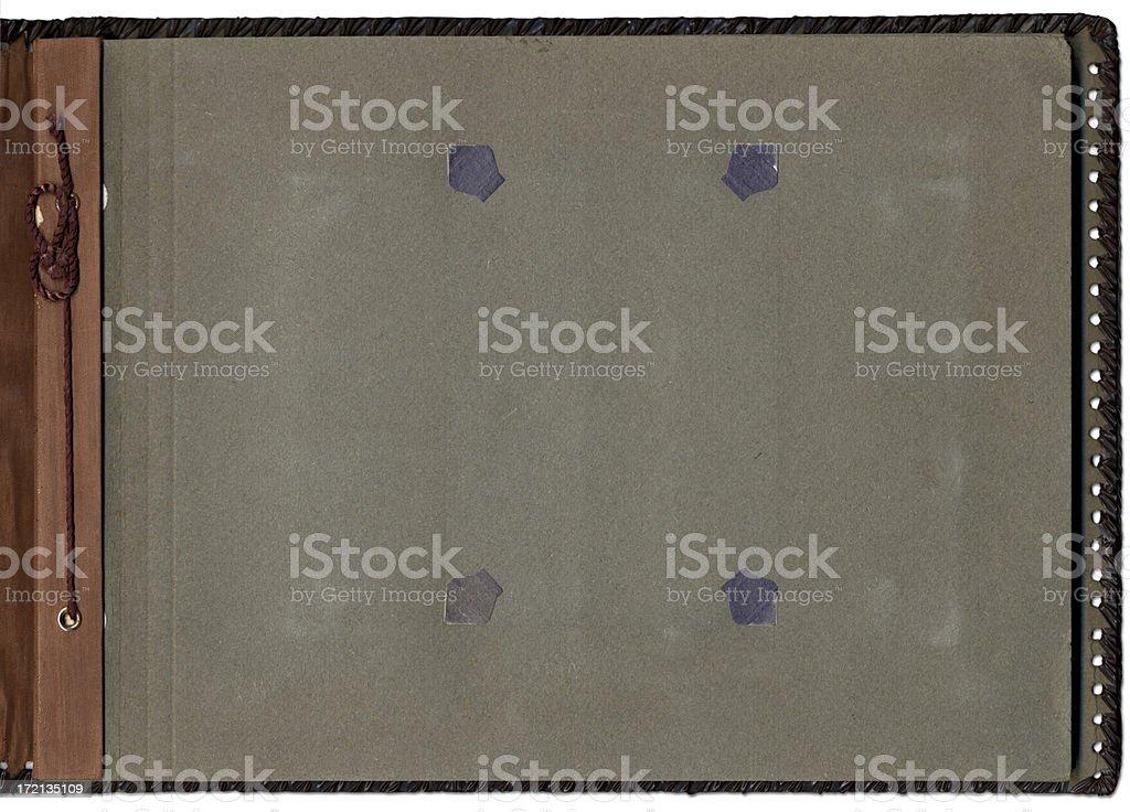 Old album interior royalty-free stock photo