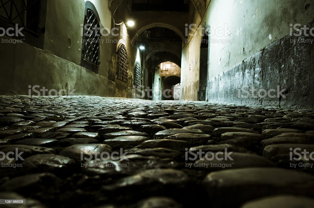 Old Alleyway royalty-free stock photo