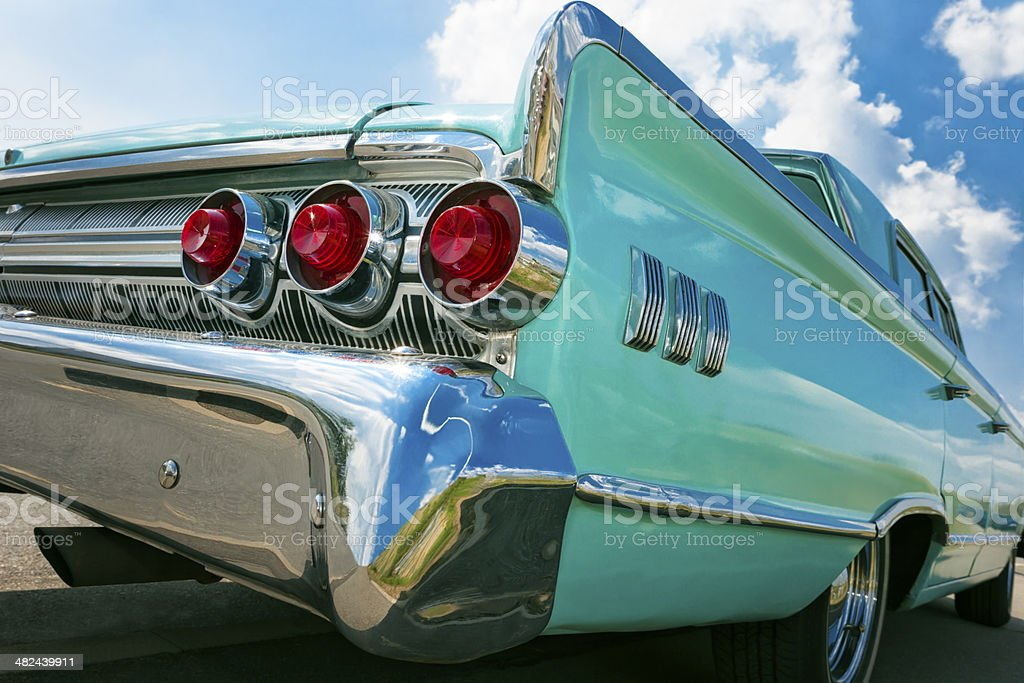 Old American Car stock photo