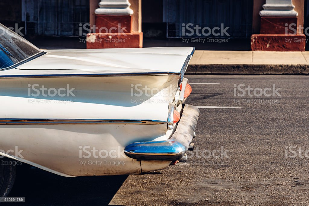 old american Vintage Car stock photo