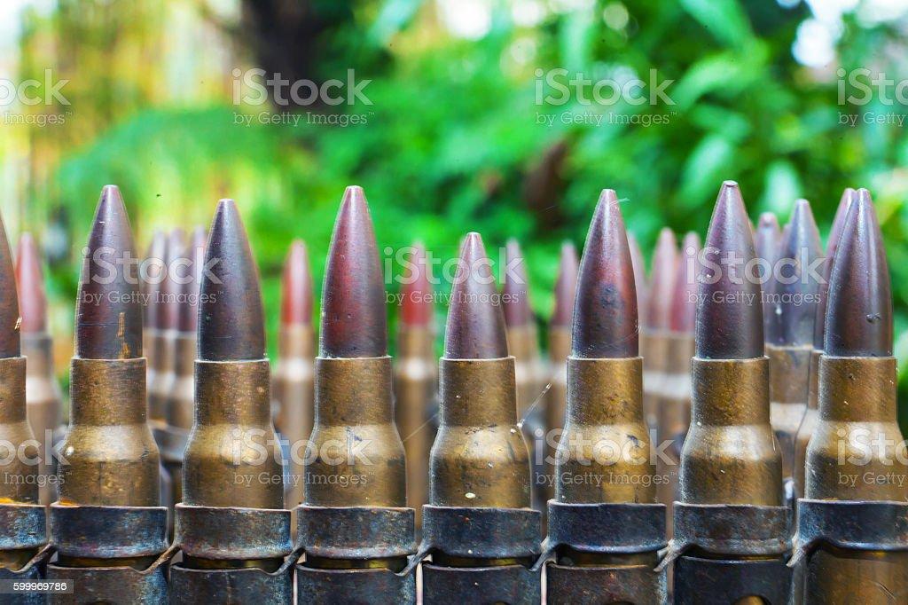 old ammunition stock photo