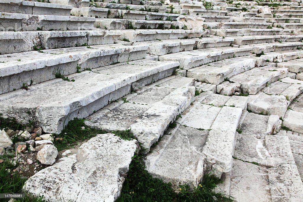 old amphitheatre royalty-free stock photo
