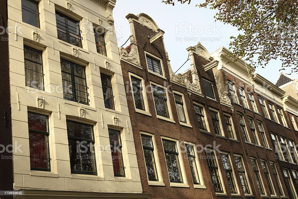 Old Amsterdam Houses stock photo