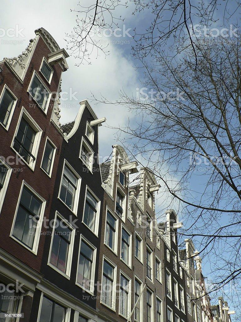 Old Amsterdam stock photo