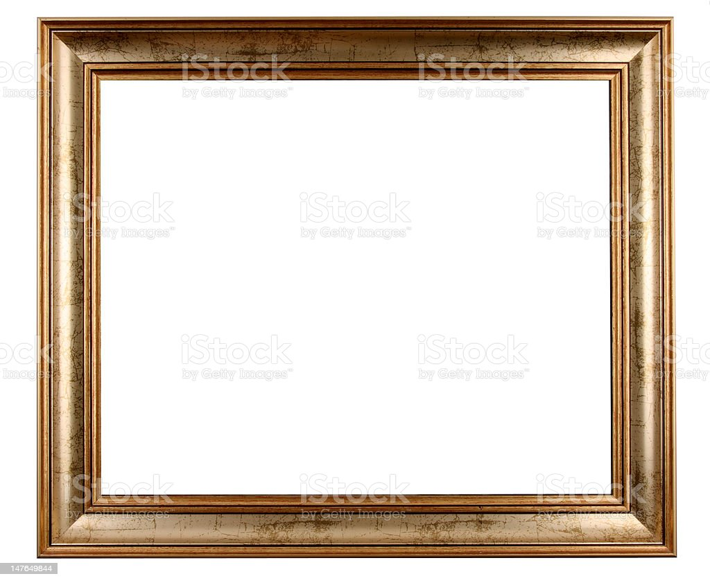 Old and antique frame royalty-free stock photo