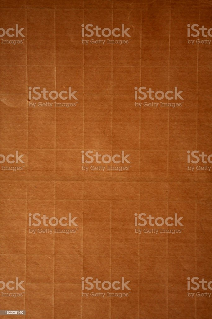 Old and brown blank paper vector art illustration