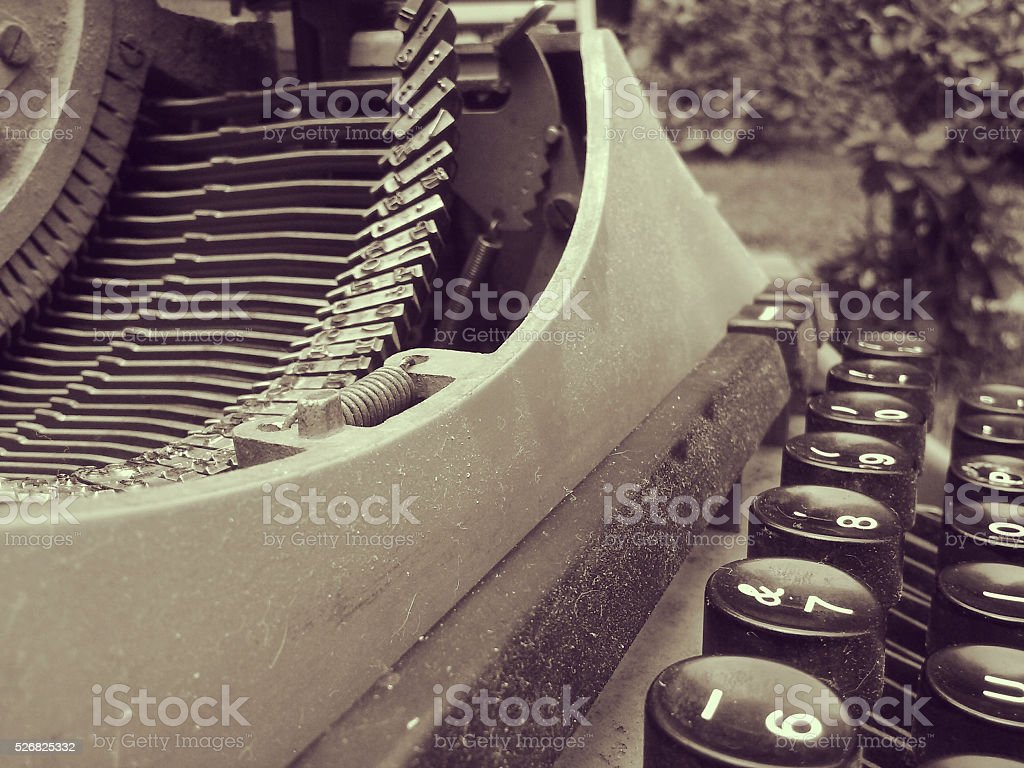 Old and Dusty stock photo