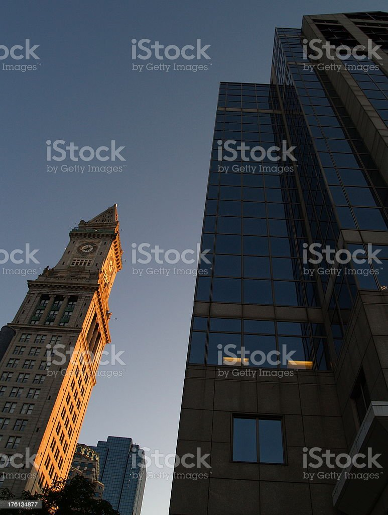 Old and New stock photo