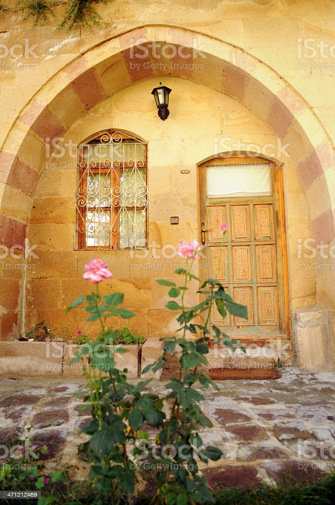 Old and sweet house royalty-free stock photo