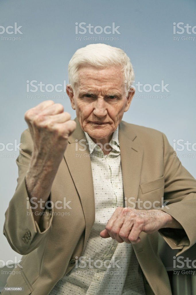 old and the furious royalty-free stock photo