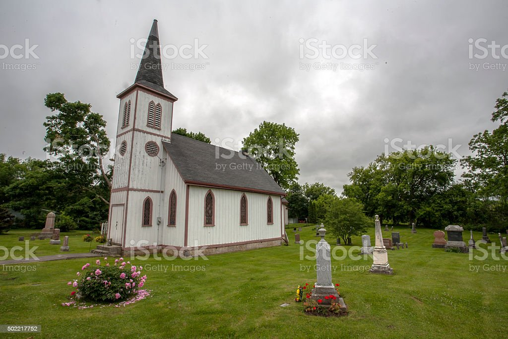 old Anglican Church stock photo