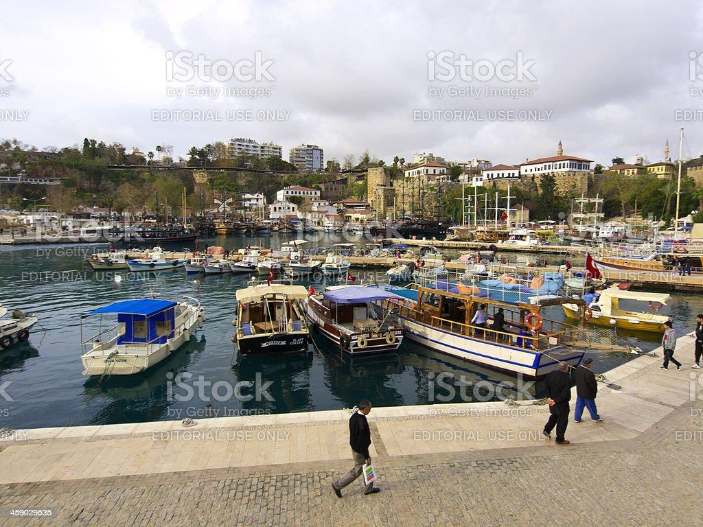Old Antalya royalty-free stock photo