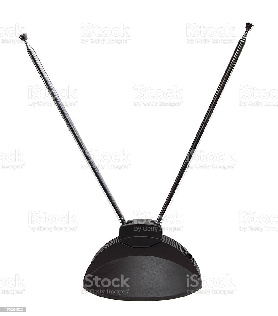 old antenna stock photo