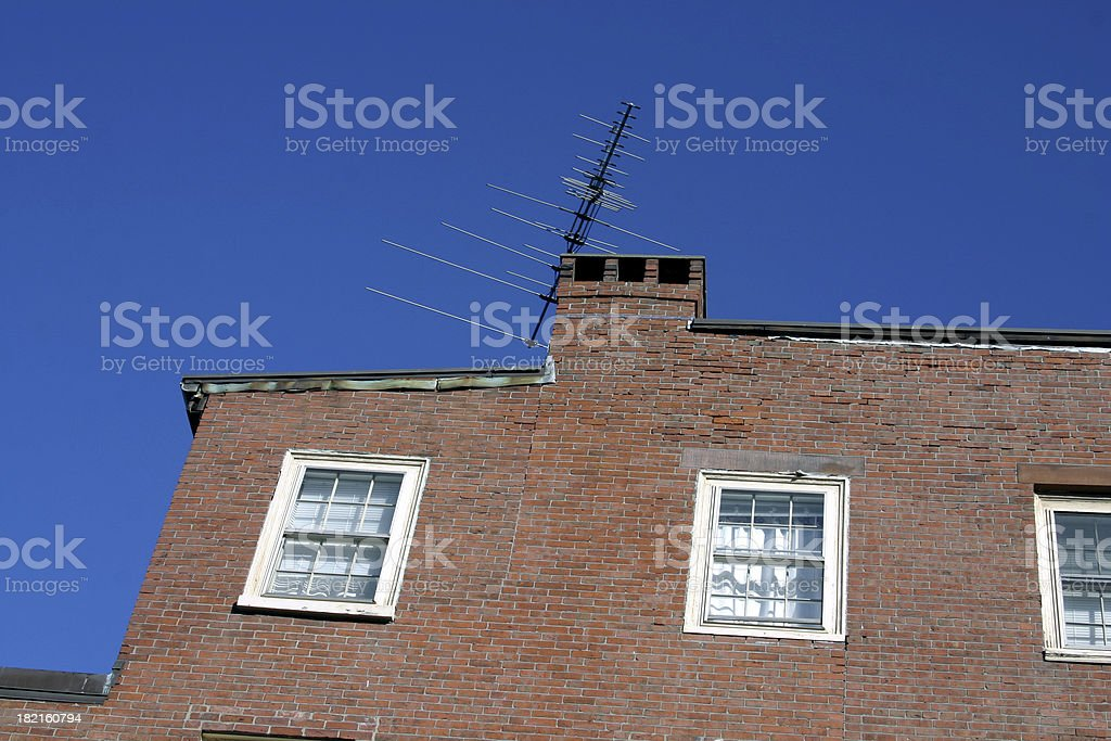 Old Antennae royalty-free stock photo