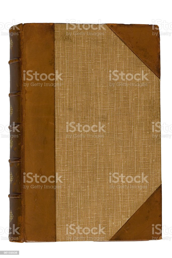 Old Antique Book royalty-free stock photo