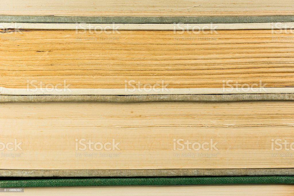 Old antique books. stock photo