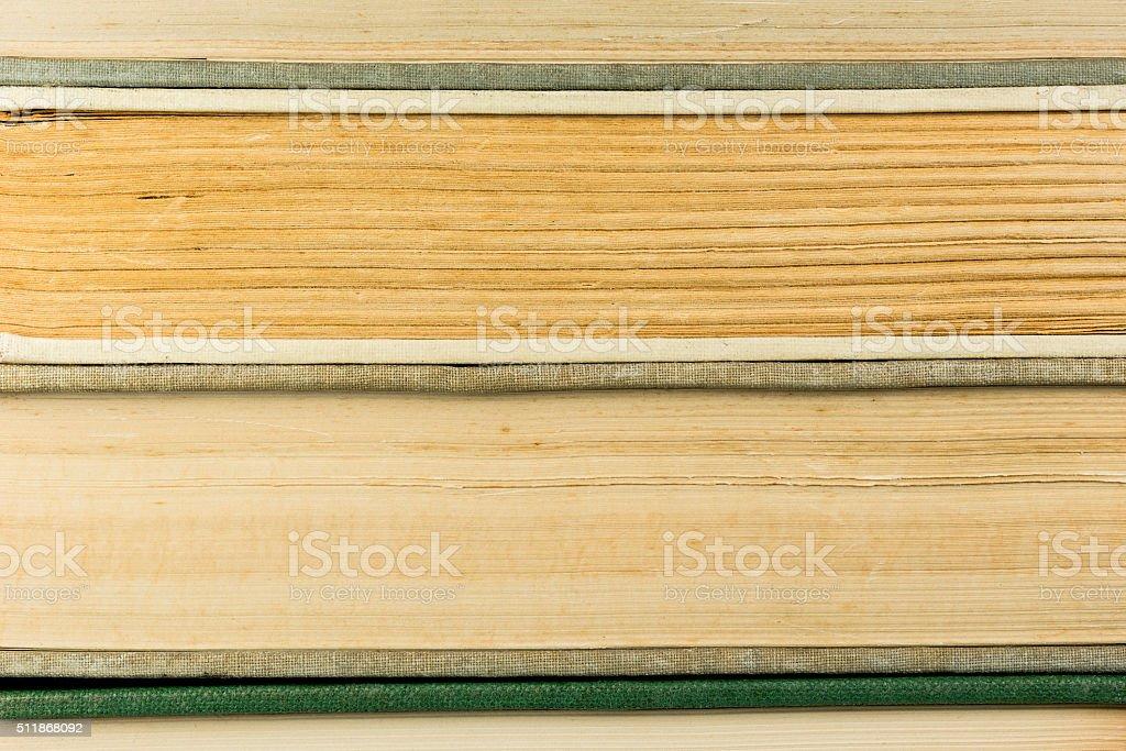 Old antique books. stock photo