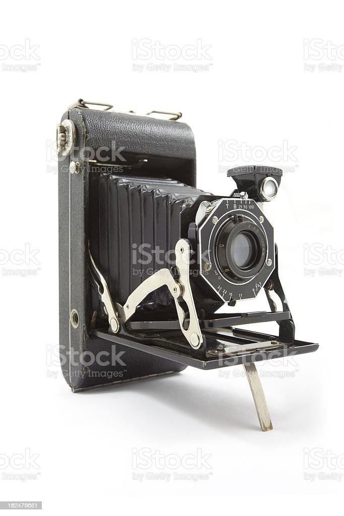 Old Antique Camera royalty-free stock photo