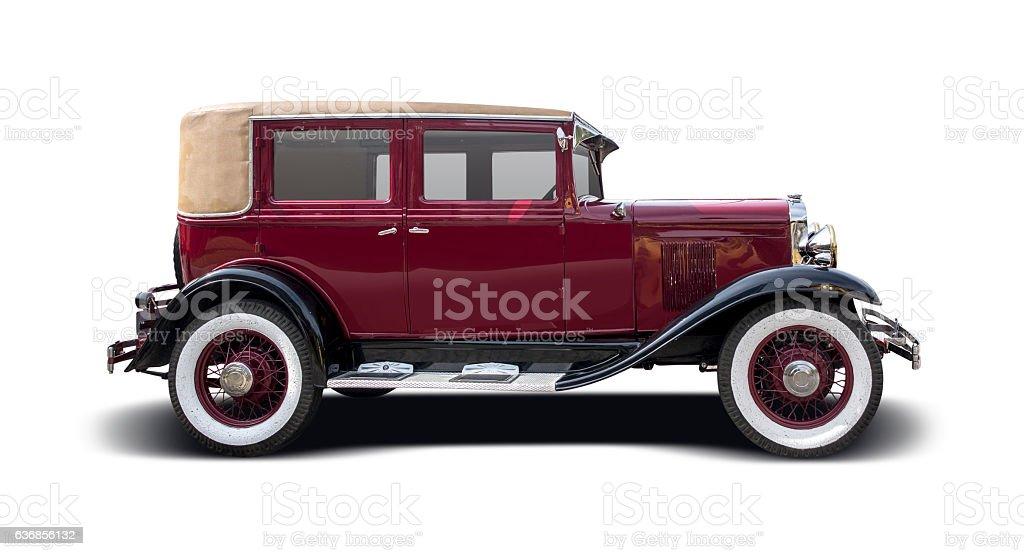 Old antique car stock photo