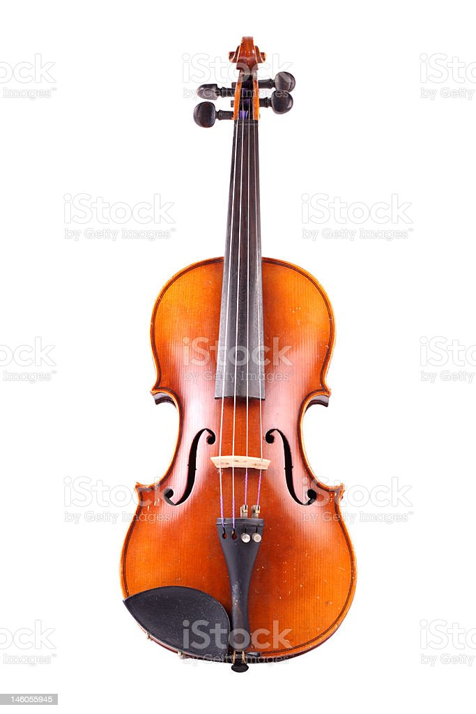 old antique violin royalty-free stock photo