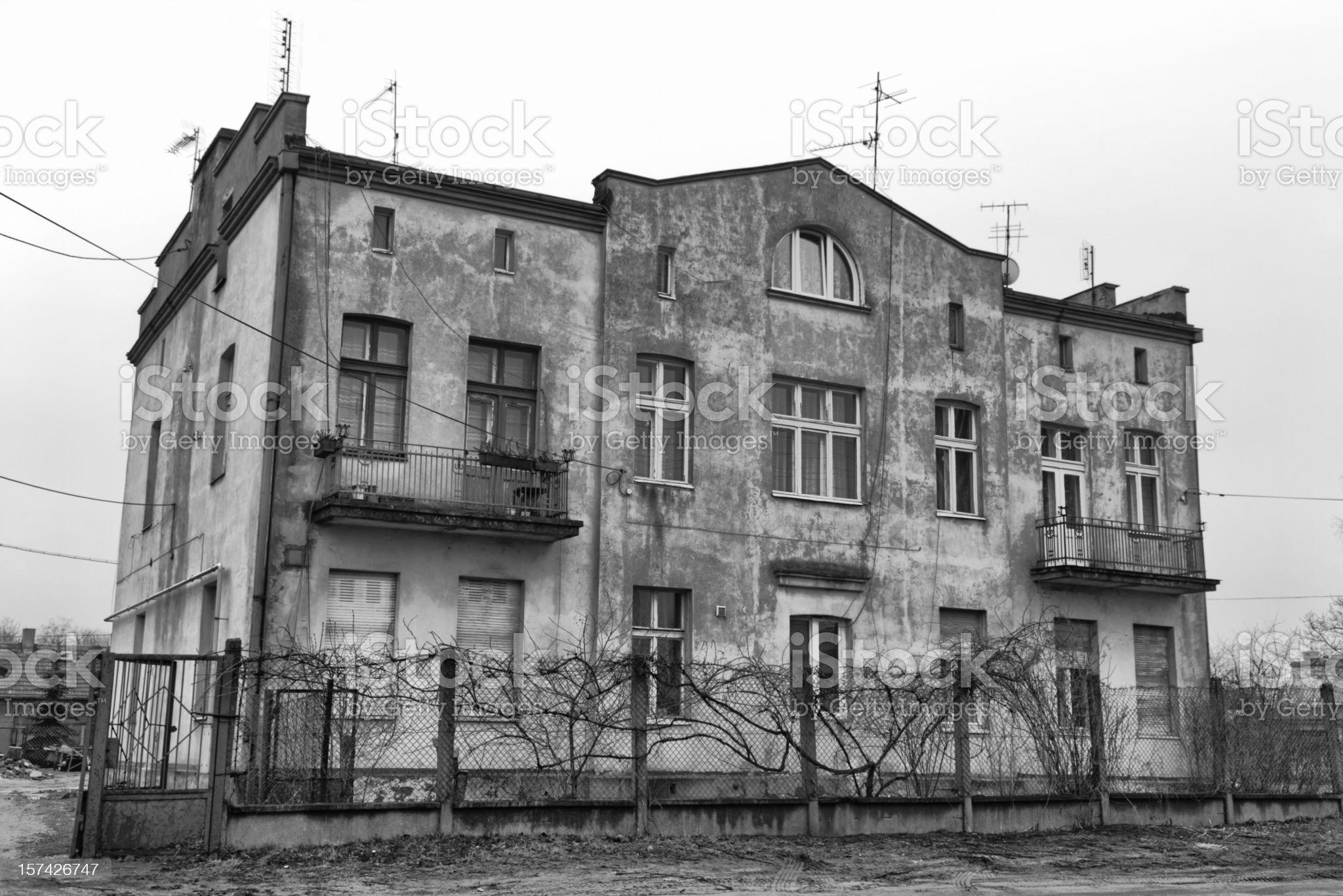 Old Apartament royalty-free stock photo