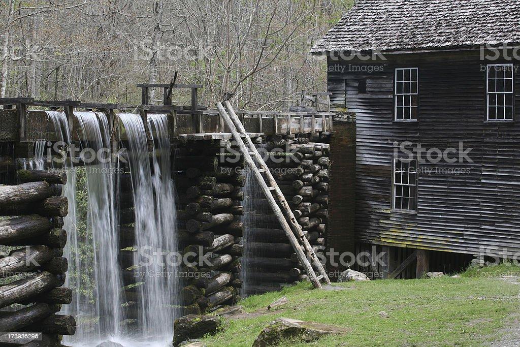 old appalachin mill stock photo